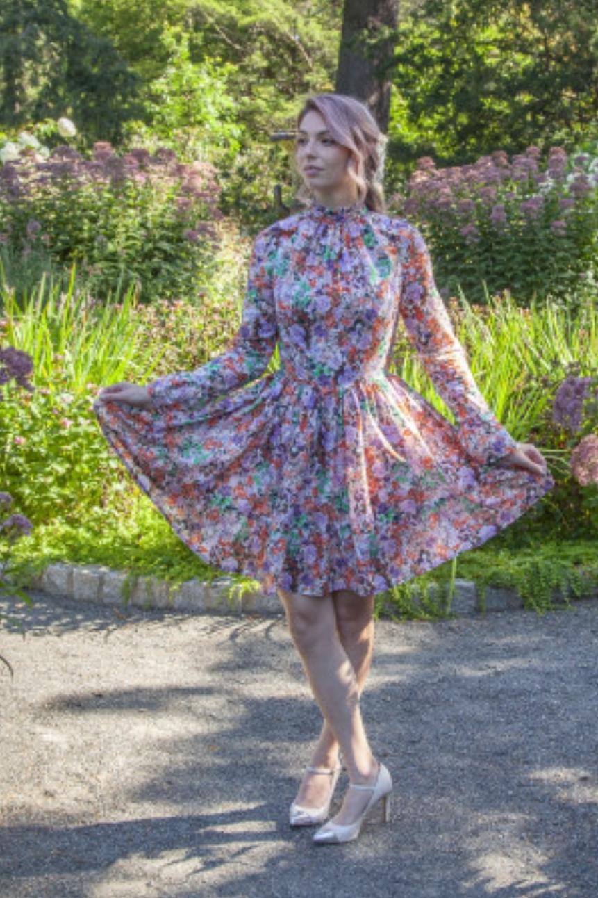 Yarrow Dress from Mood Sewciety