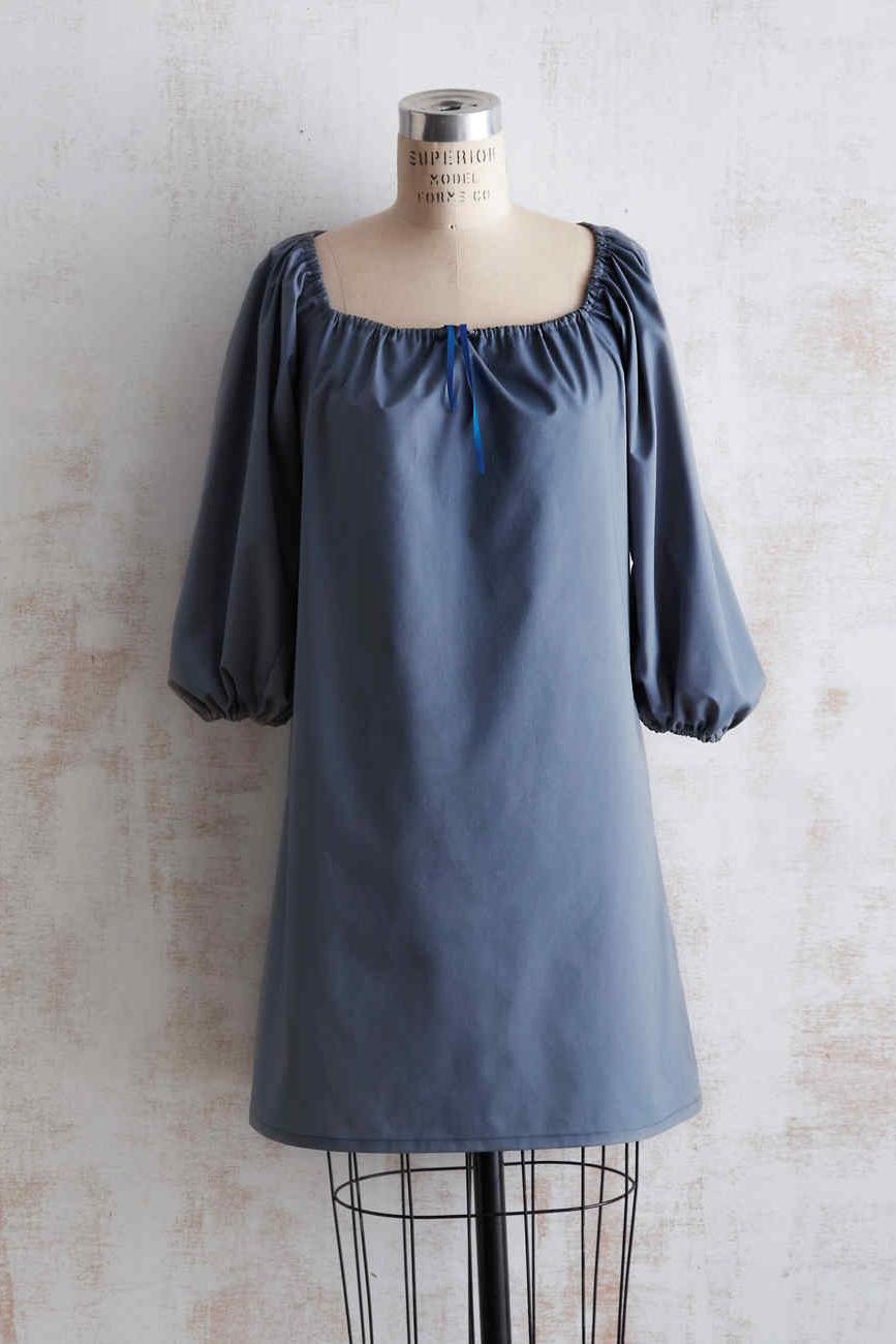 Dress/blouse tutorial from Martha Stewart