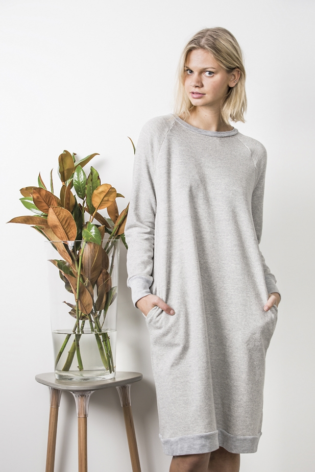 Jersey Dress from In the Folds & Peppermint magazine