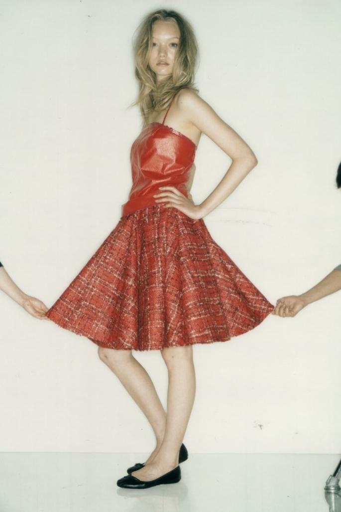 Dress from Junya Watanabe, SHOWStudio