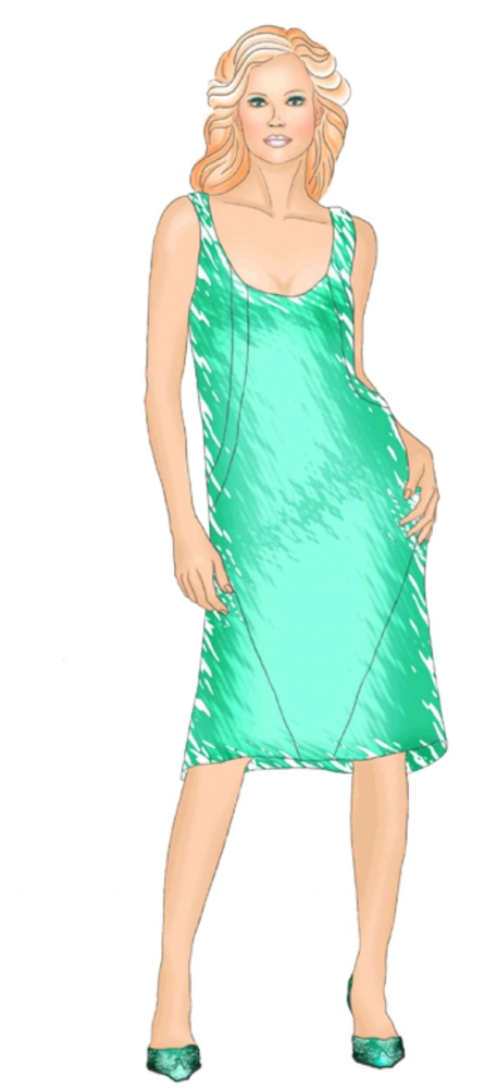 Sundress #5461 from Modern Sewing