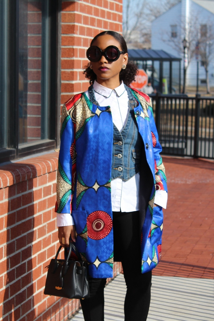The Geranium Coat from Modd Sewciety