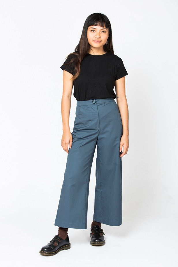 Wide Leg Trousers from In the Folds & Peppermint