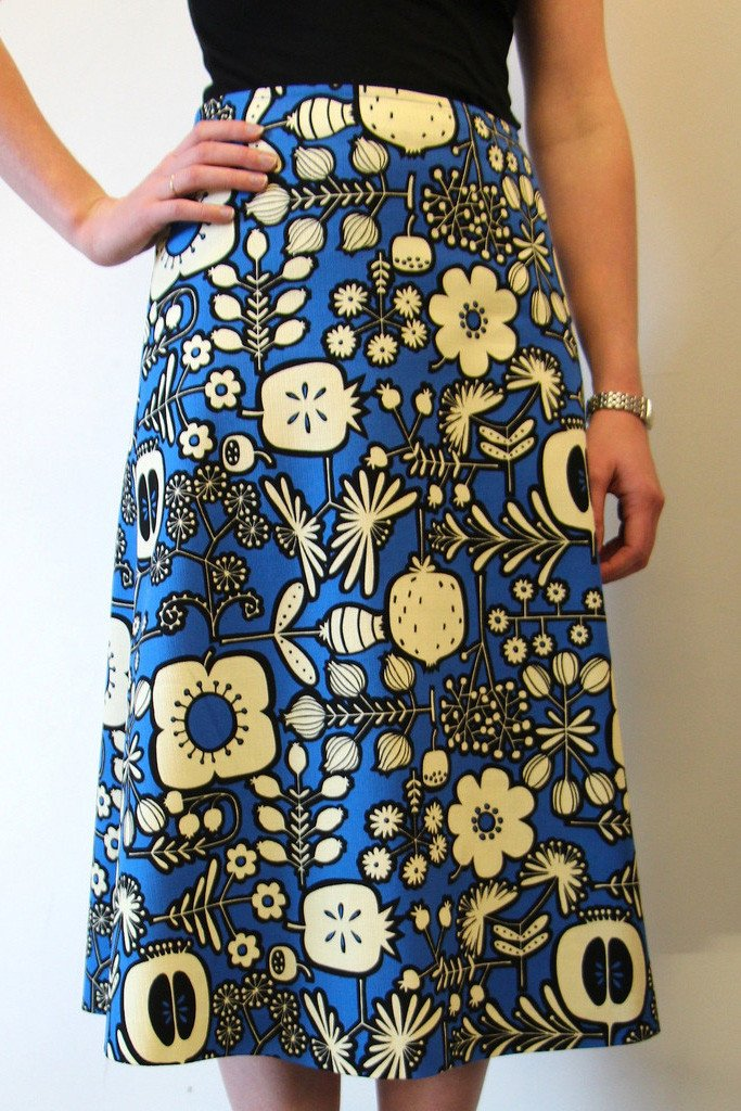 Libby A-line Skirt from Tessuti