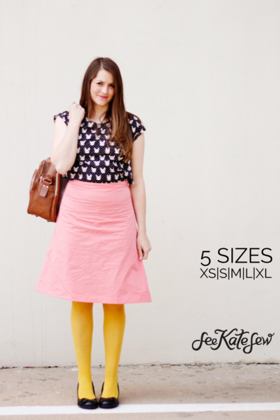 A-line Skirt from See Kate Sew