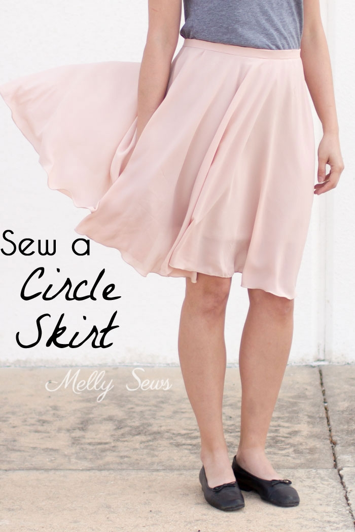 Sew a Circle Skirt with Melly Sews