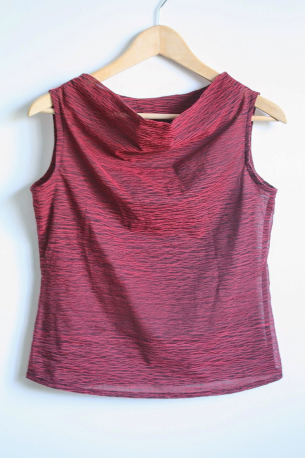 Cowl Neck Top by Nicole at Home