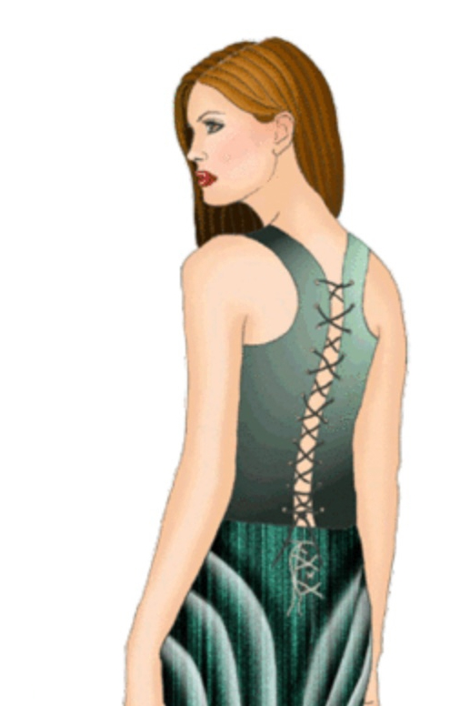 Corset top #5359  from Modern Sewing