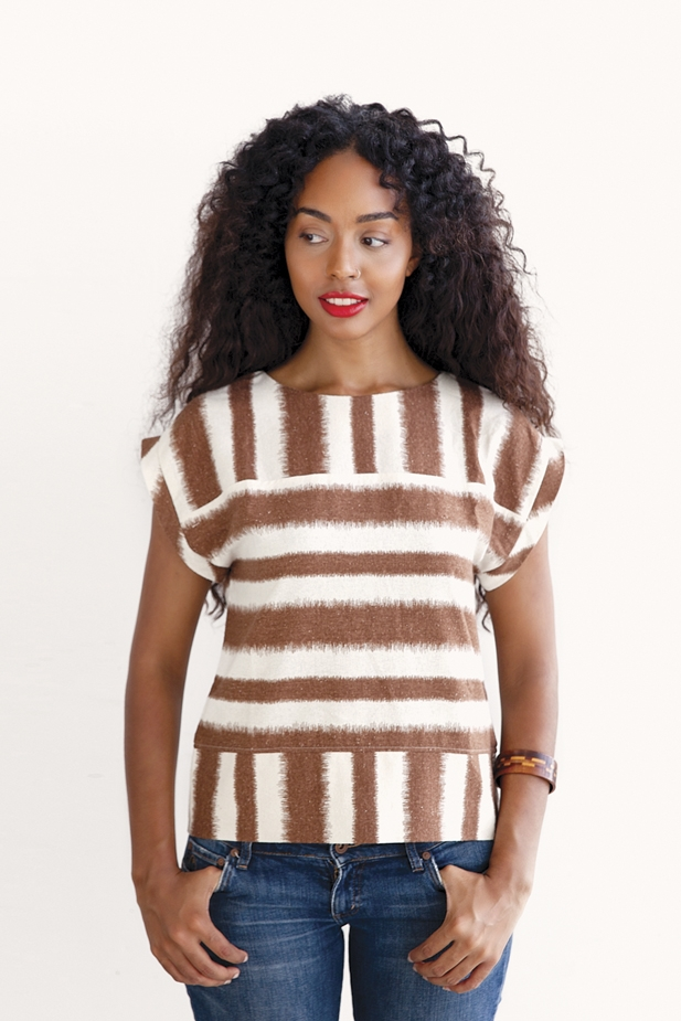 Boxy Top from Pattern Runway & Peppermint mag