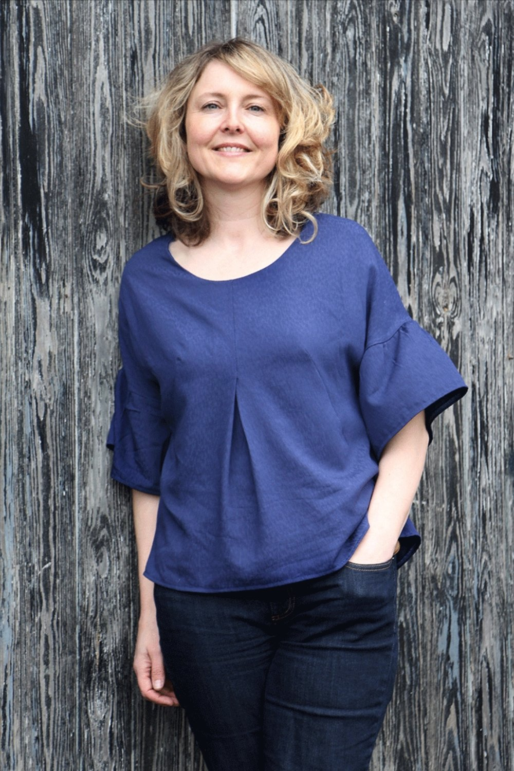 Peasant Top from Sew Different