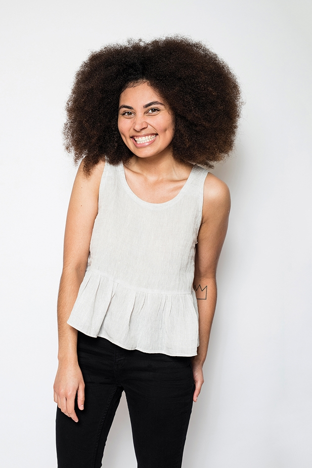 Peplum Top from In the Folds/Peppermint mag