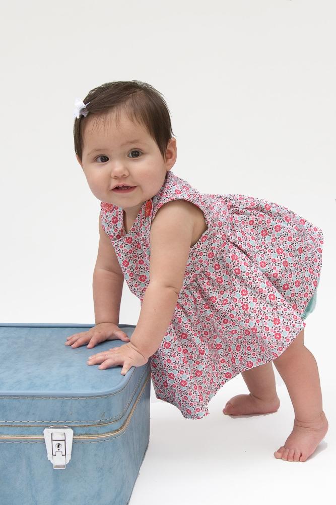 Carolina Baby Dress from Blank Slate Patterns