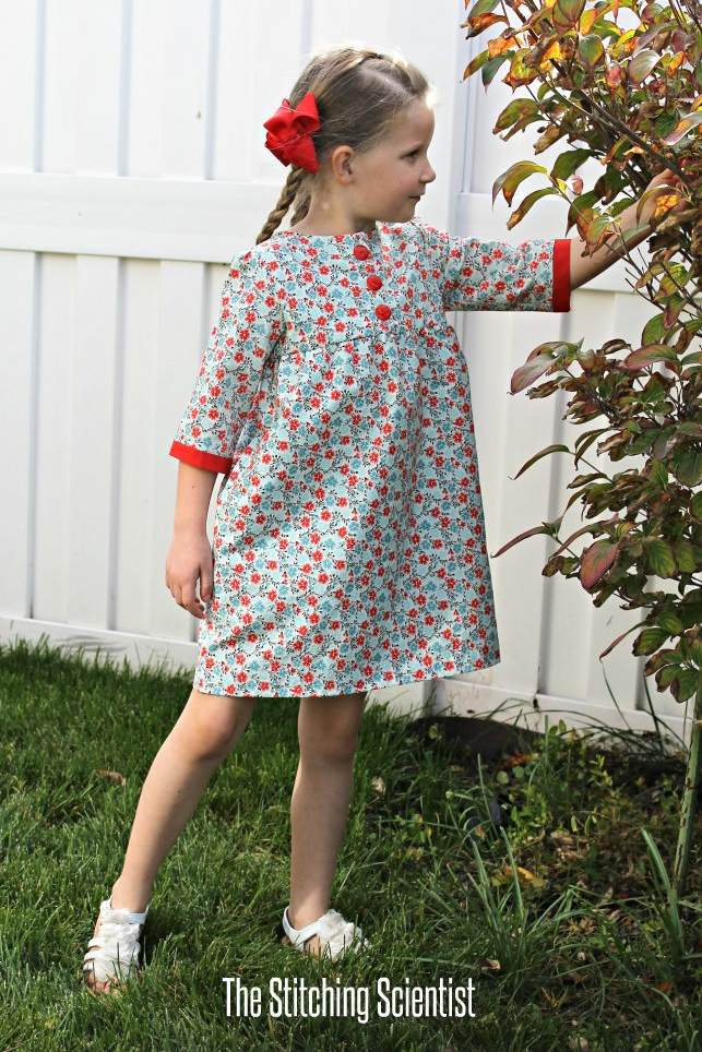 Brooklyn Empire Dress from The Stitching Scientist