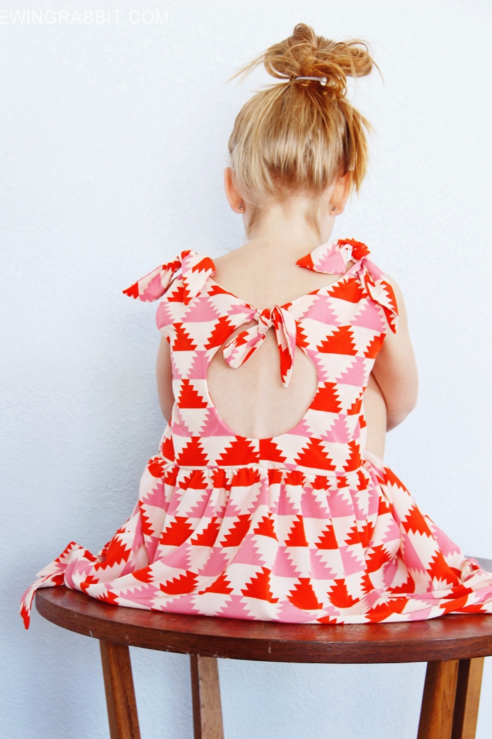 Knot Dress from Sewing Rabbit
