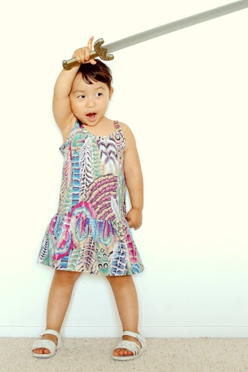 Baby Slip Dress by Suburbia Soup