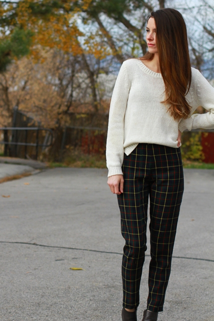 DIY Trouser Tutorial from Cotton & Curls