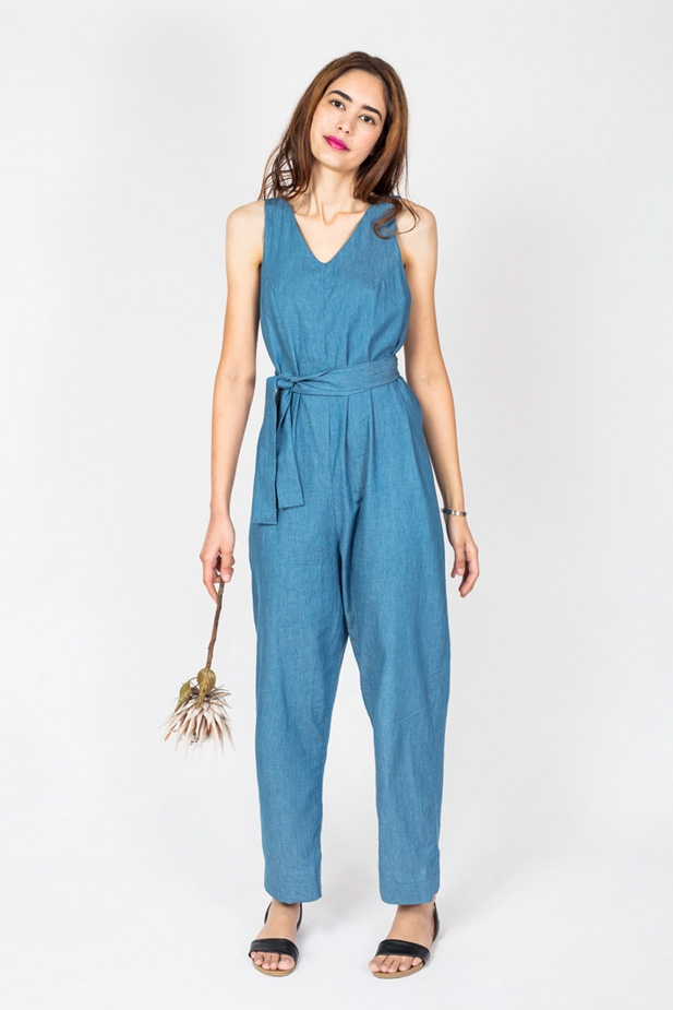 Jumpsuit from In the Folds & Peppermint