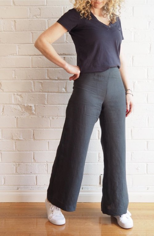 Chiara Trousers From Tessuti The Pattern Pages