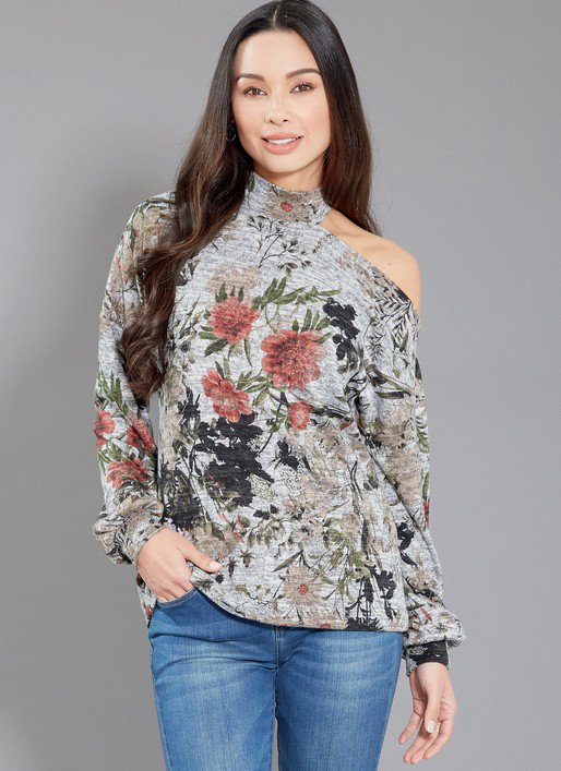 McCall's 7836 top with dropped shoulder