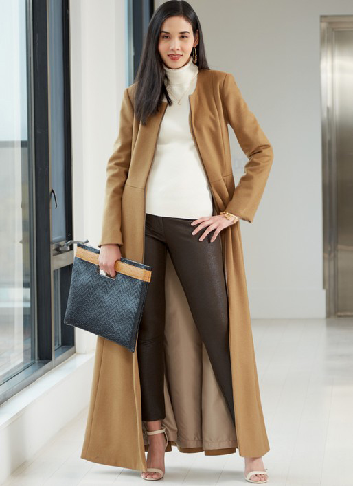 McCall's 7848 midi/maxi length coats