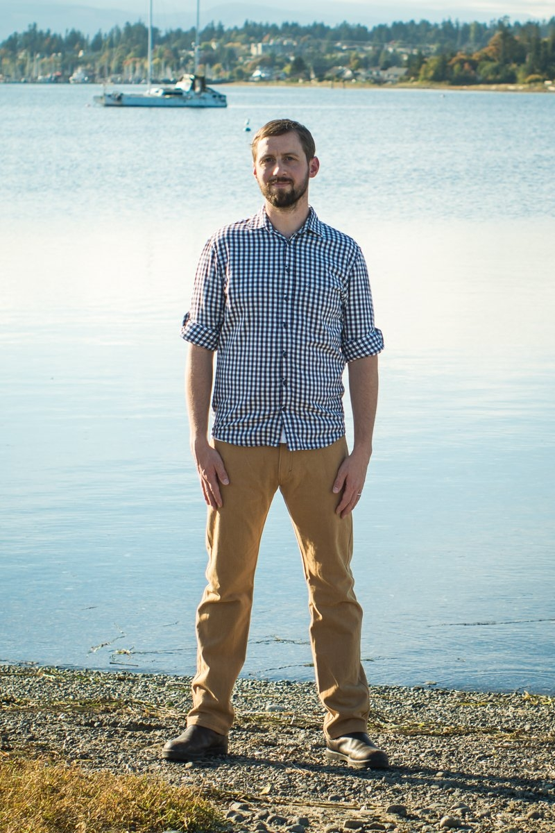 Fulford jeans sewing pattern from Thread Theory