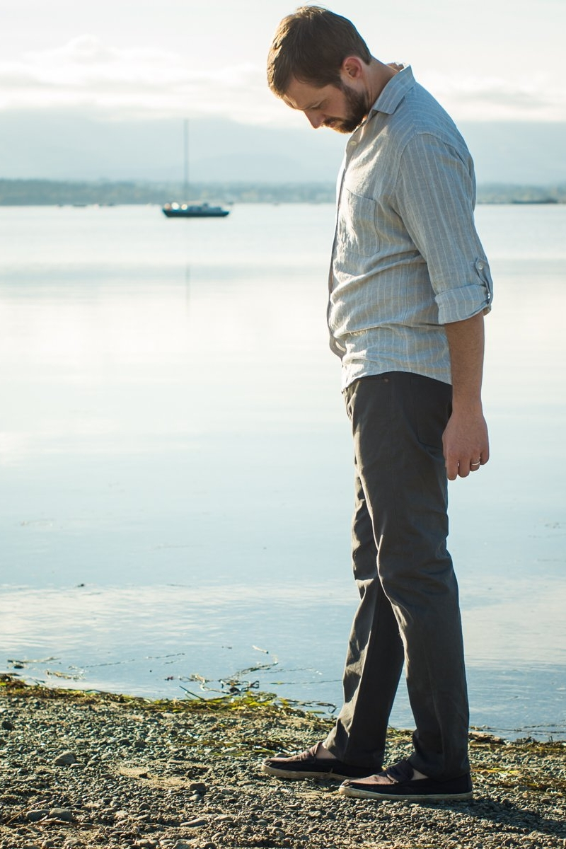 Quadra Jeans sewing pattern for men from Thread Theory