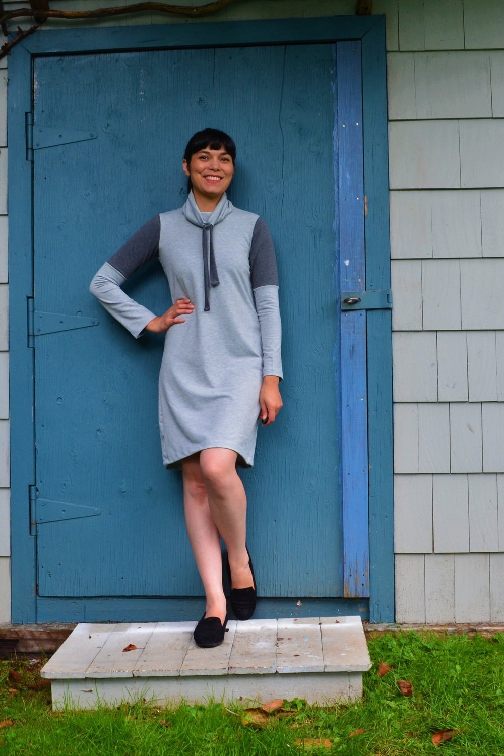 Lane Hoodie and Dress sewing pattern from DG Patterns
