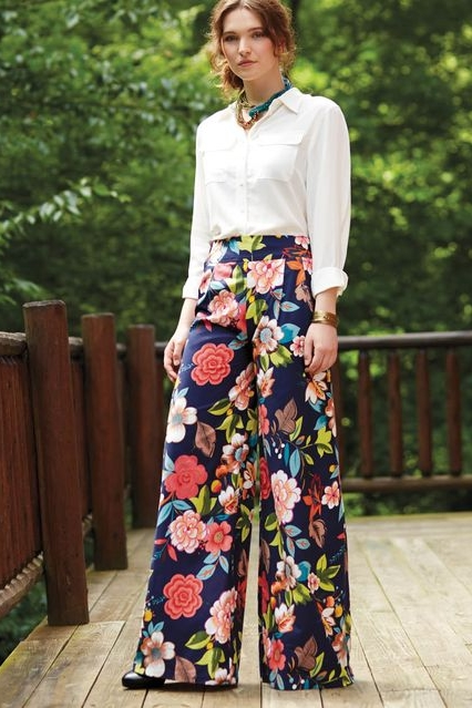 Wide-leg Trousers from Joann