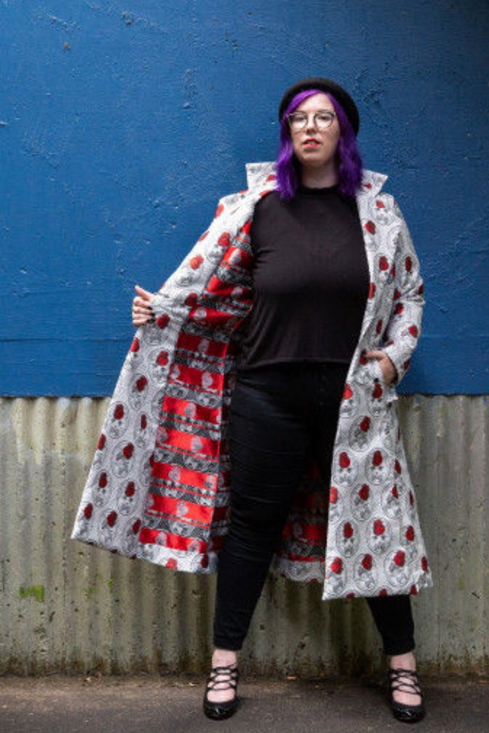 Zinnia Coat from Mood Sewciety
