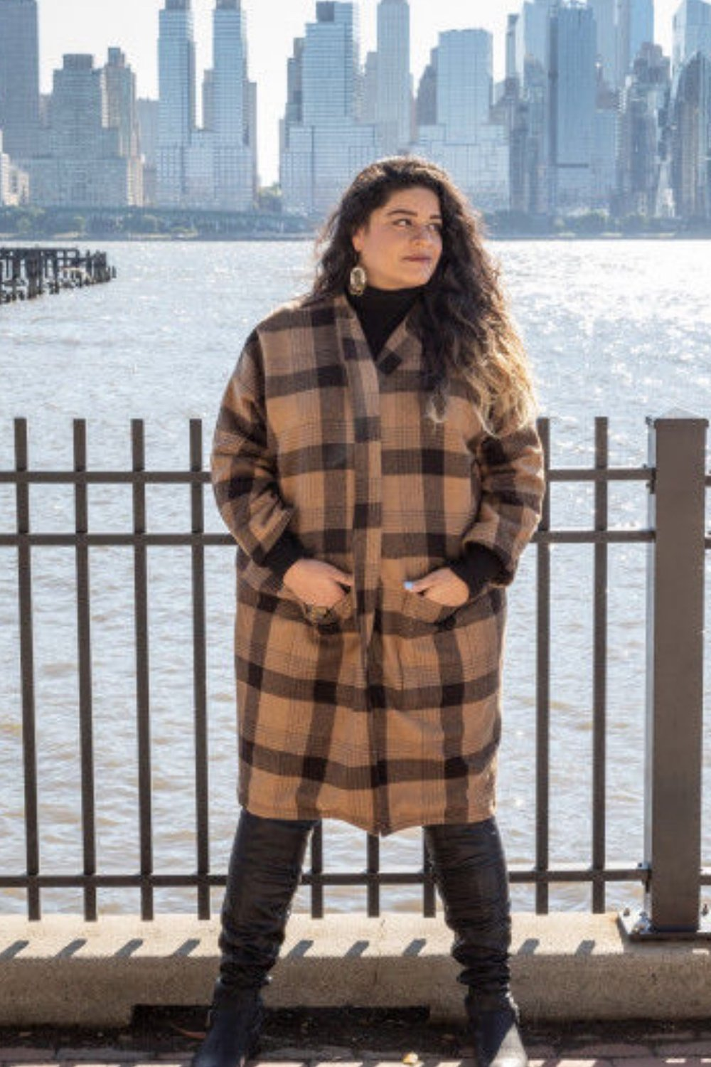The Hazel Coat from Mood Sewciety