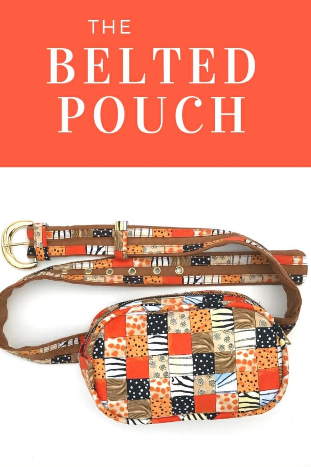 Belted Pouch from So Sew Easy
