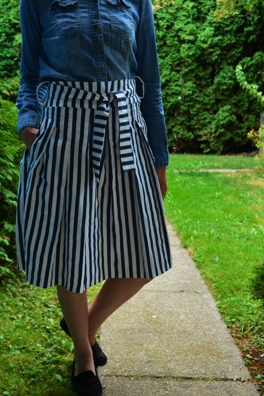 Pleated Skirt from On The Cutting Floor