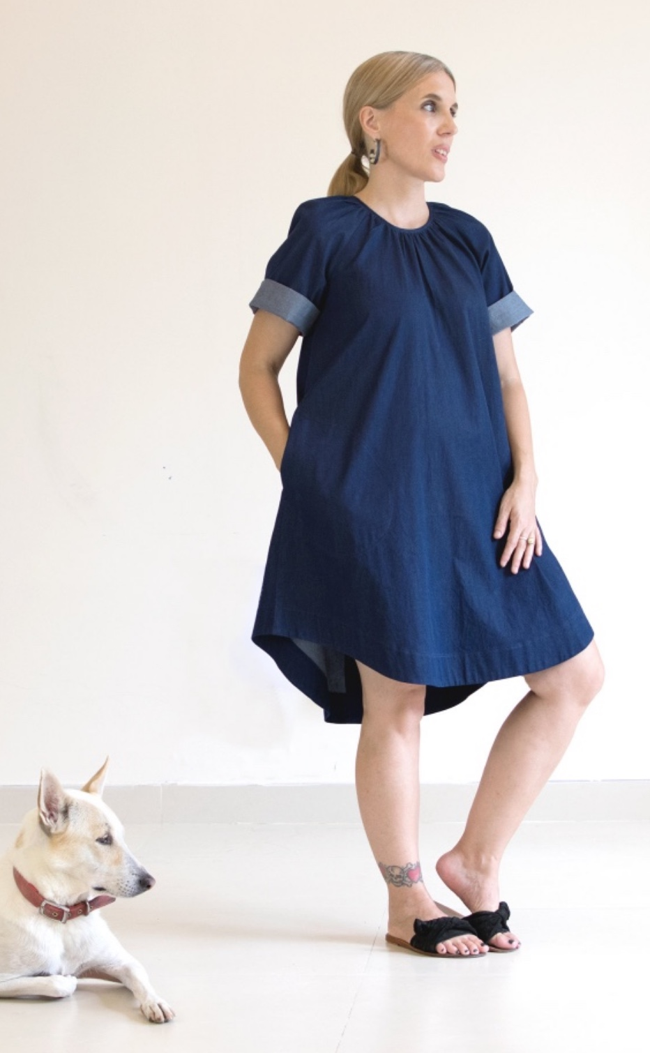 Calyx Smock sewing pattern from Pattern Fantastique
