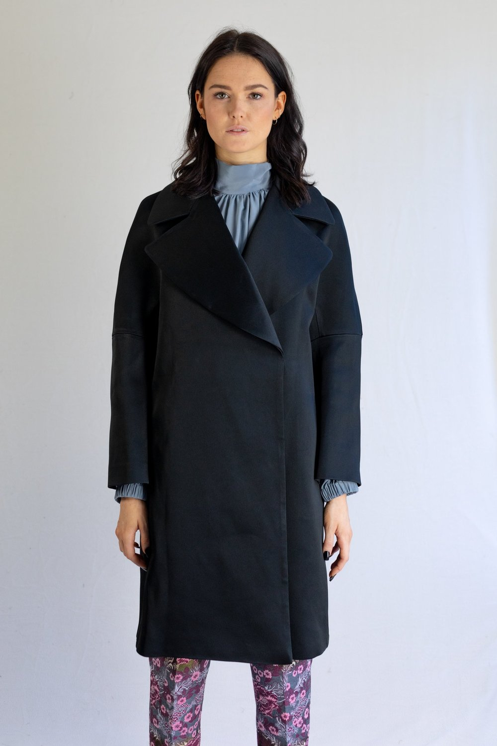 Drop Shoulder Coat from Trend Patterns