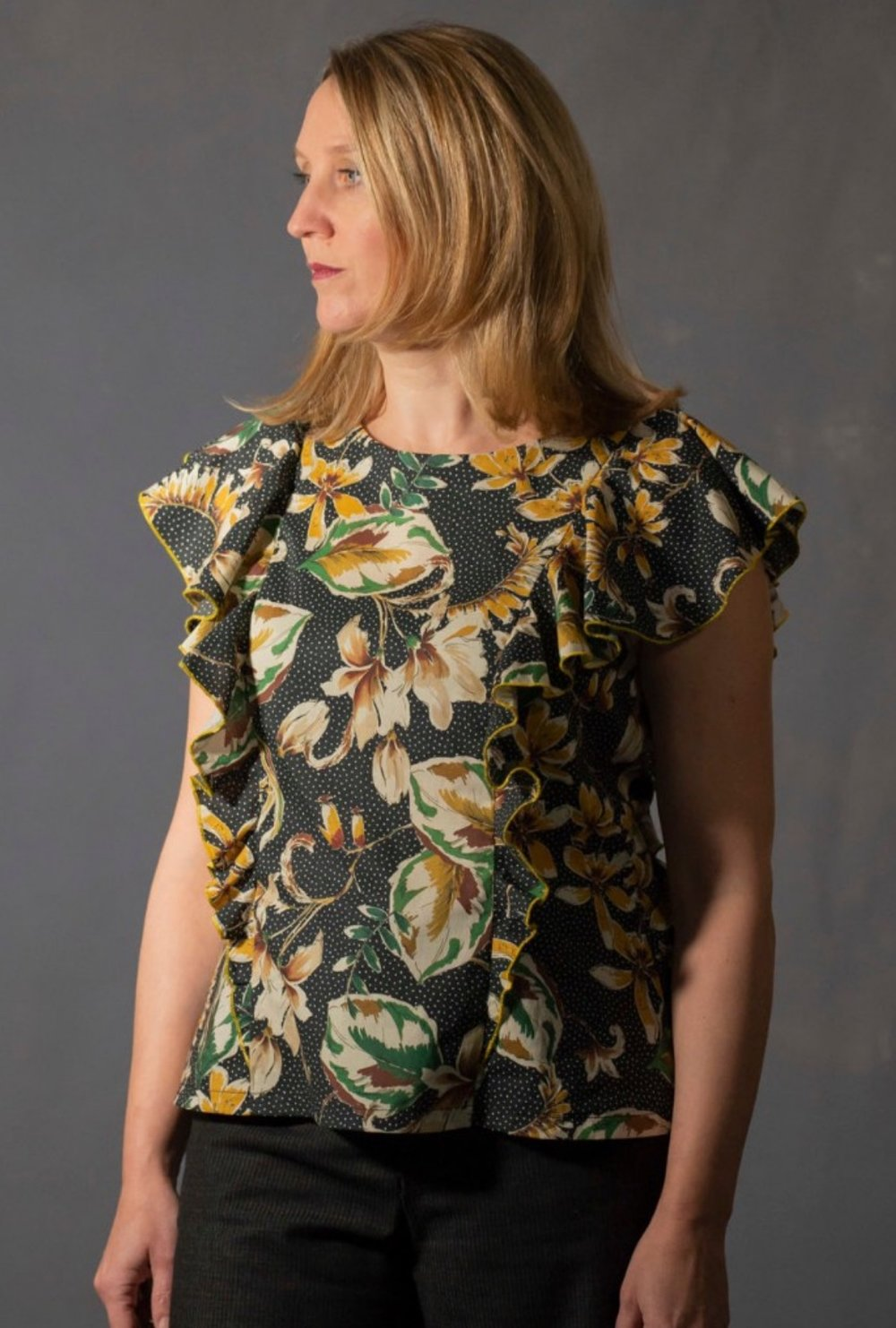 Iris Top from Sew Me Something