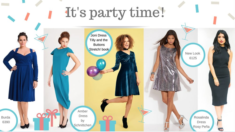 It's party time - 5 of the best dress sewing patterns