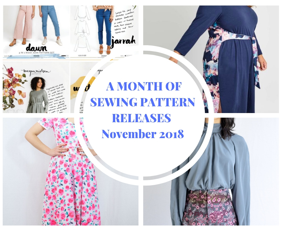 November 2018 sewing pattern releases