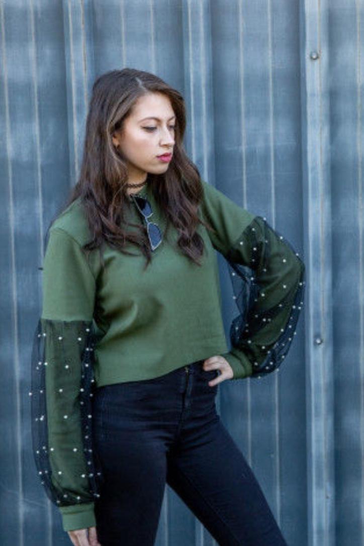 The Bixa Sewatshirt from Mood Sewciety