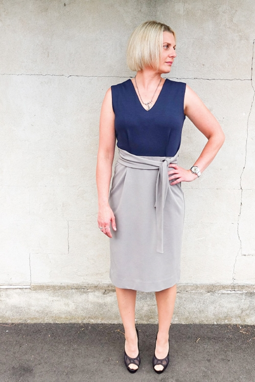 Brice Pencil Skirt from Style Arc