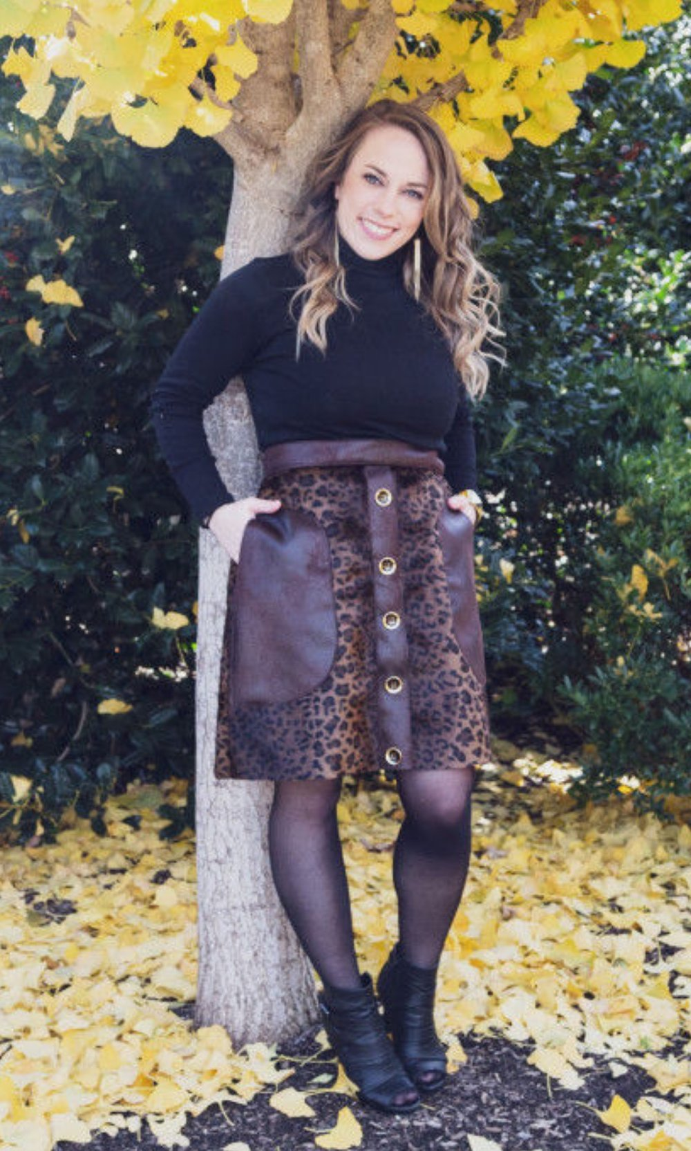 Cascade Skirt from Mood Sewciety