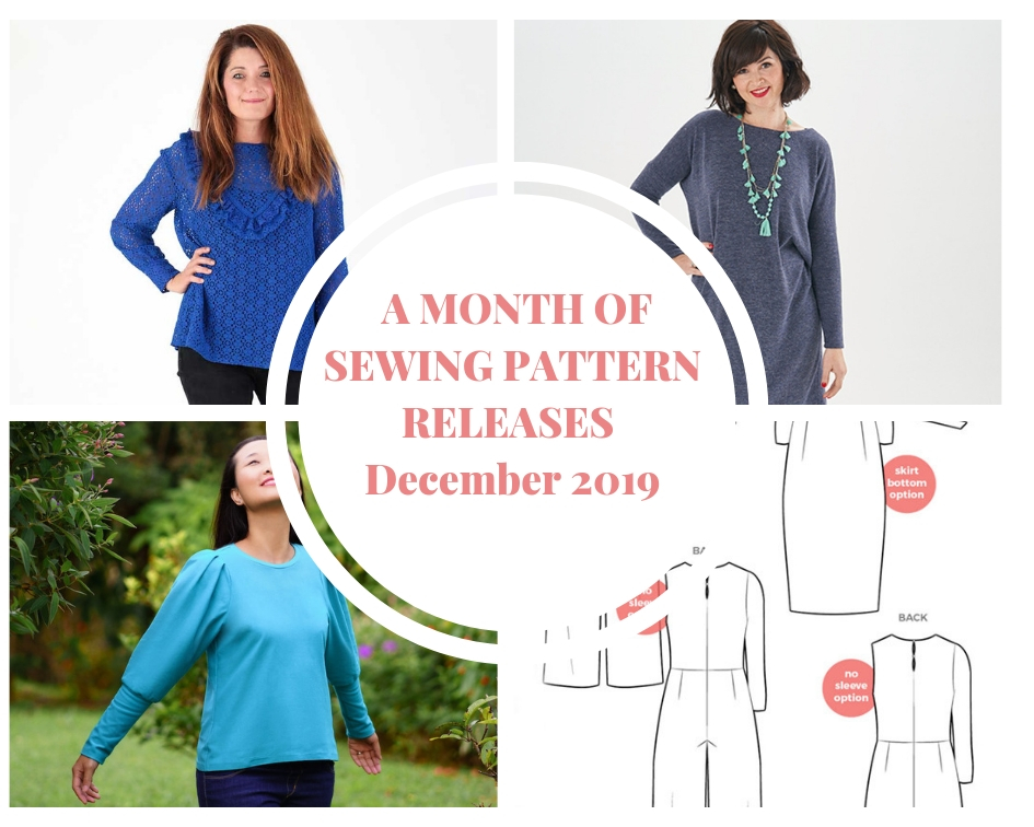 December 2018 sewing patterns