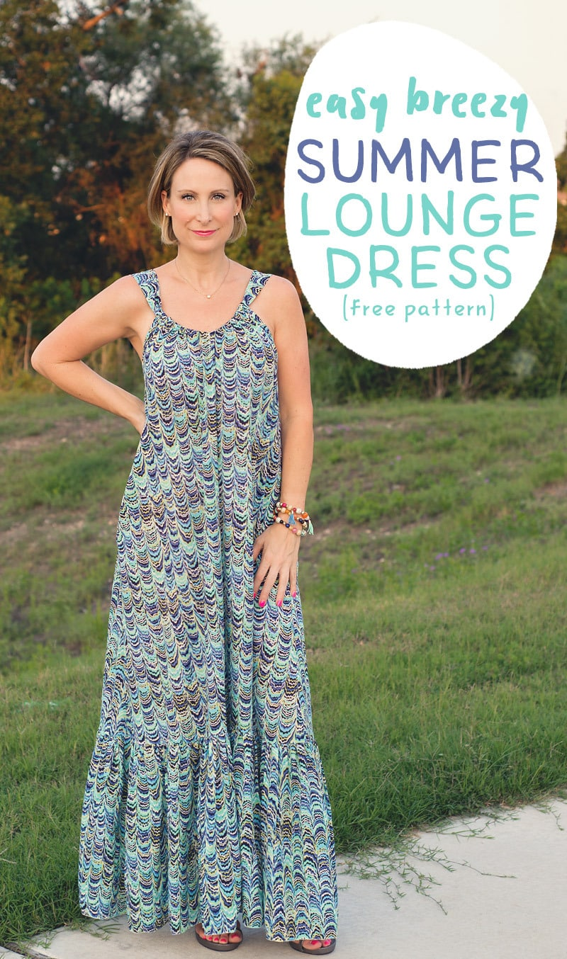 Lounge Dress from Jamie Saunders