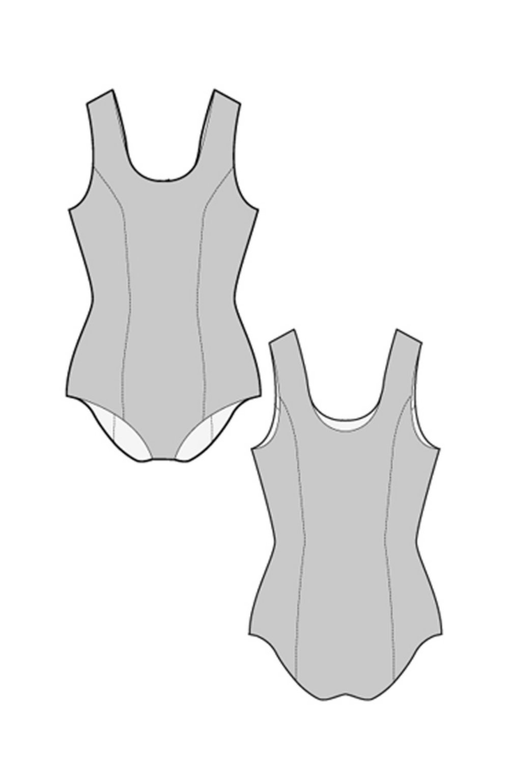 Basic Swimsuit by Ralph Pink