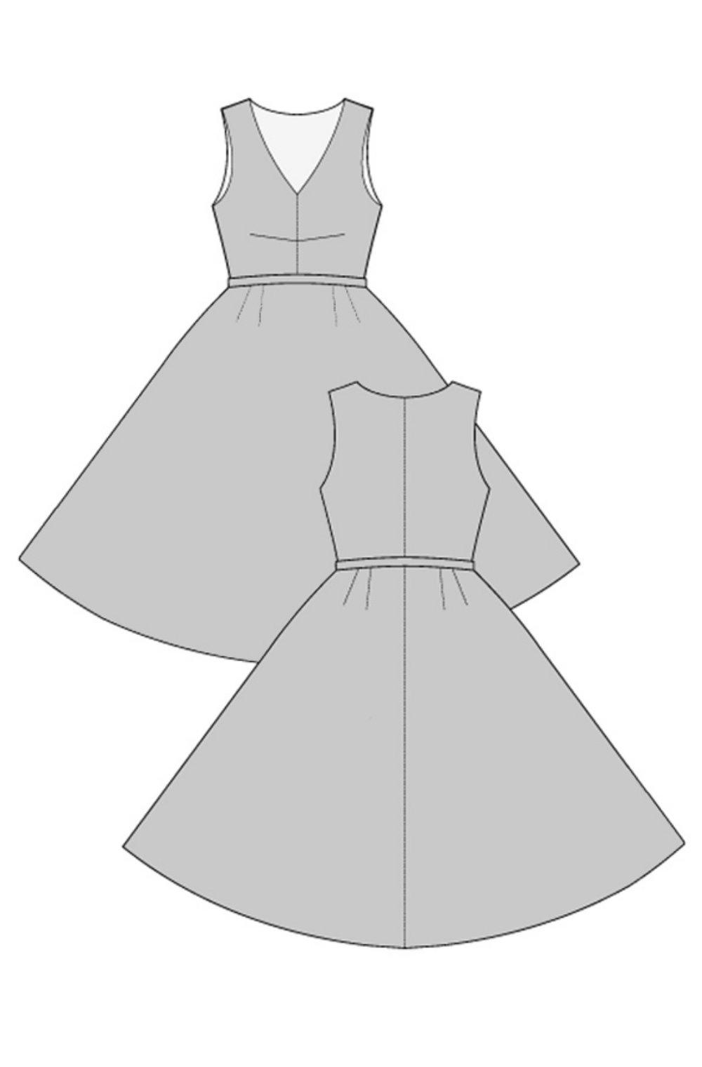 '50s Carmen Dress from Ralph Pink