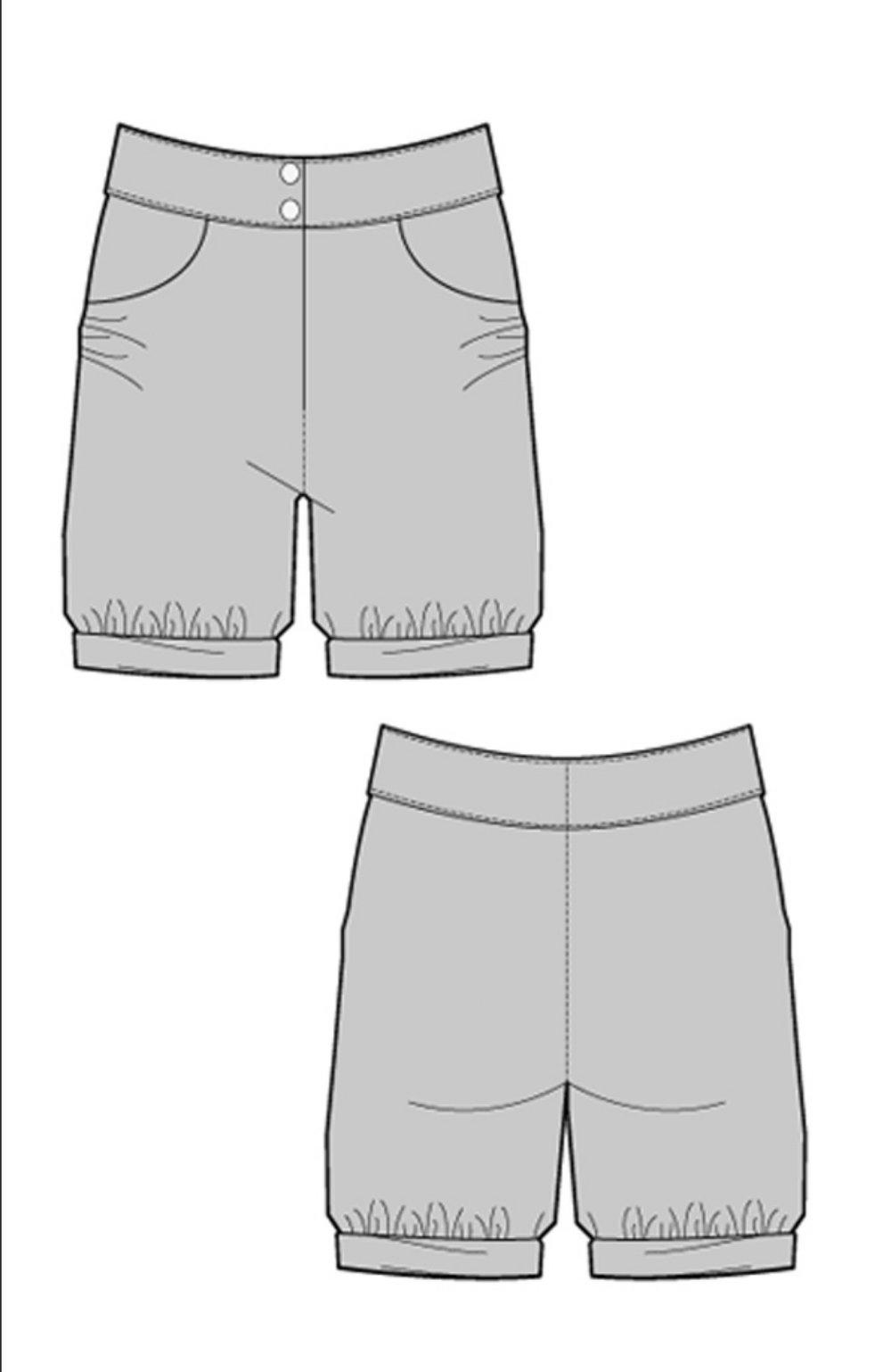 Borka Shorts (8UK) by Ralph Pink