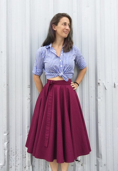 e43ac098eec Free Skirt sewing patterns
