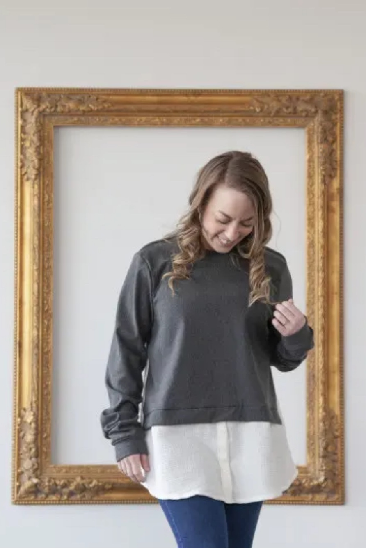 The Malva Sweater by Mood Society