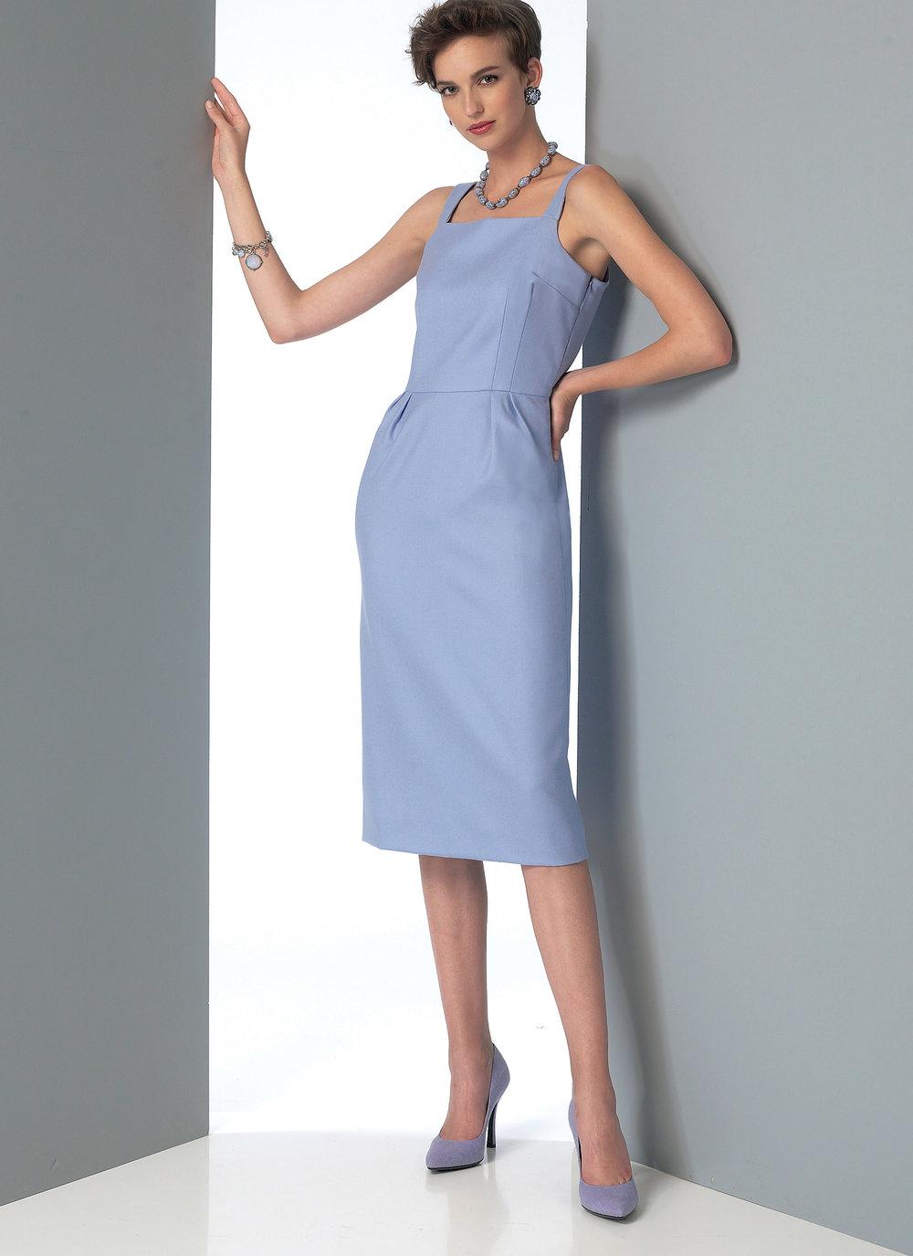 Vogue 9082 - wiggle dress.