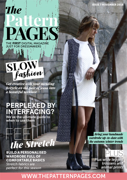 The Pattern Pages Issue 7 Winter 2018 Cover