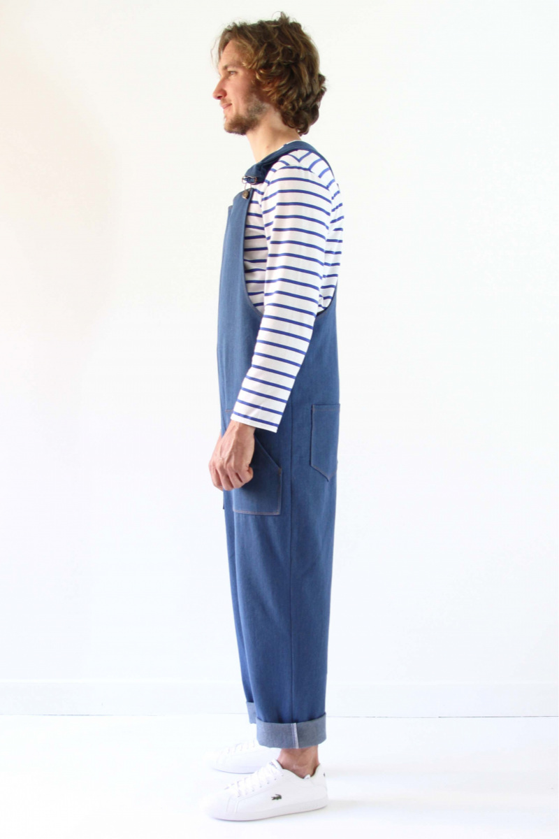 Colibri Overalls from I AM Patterns